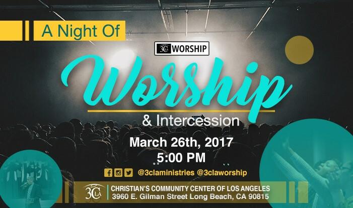 Worship & Intercession