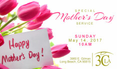 3CLA Mothers Day Service